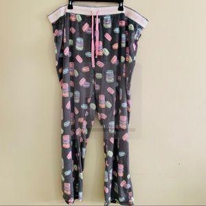 PJ Salvage Intimates & Sleepwear - P.J Salvage plus 3XL macaroon pajama bottom NWOT
